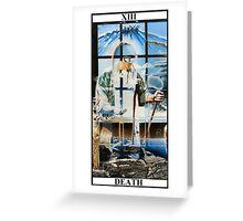 Death Tarot Greeting Card