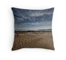 River Beach, Aireys Inlet Throw Pillow
