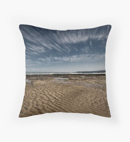 River Beach, Aireys Inlet Throw Pillow