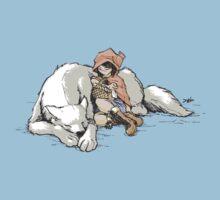 Petite Rouge en le Loup  One Piece - Short Sleeve