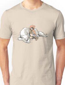Petite Rouge en le Loup  Unisex T-Shirt