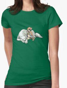 Petite Rouge en le Loup  Womens Fitted T-Shirt