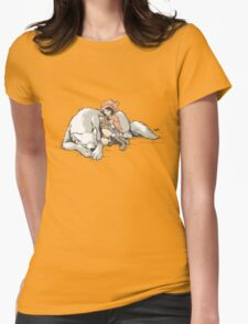 Petite Rouge en le Loup  Womens Fitted T-Shirt