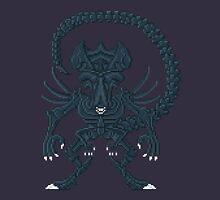 Xenomorph Queen - Aliens Pixel Art Unisex T-Shirt