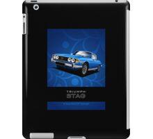 Triumph Stag period style advert iPad Case/Skin