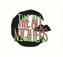 The All Nighters Official Secondary Logo Art Print