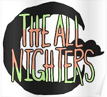 The All Nighters Official Secondary Logo Poster