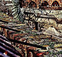 Kalemegdan Fortress Ruins Belgrade by stockfineart
