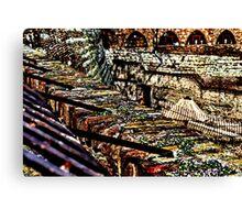 Kalemegdan Fortress Ruins Belgrade Canvas Print
