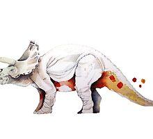Triceratops by rociogomezmoral