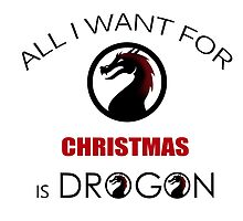 all i want for christmas is my dragon by batelcohen