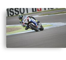 Lowes - World Superbikes Canvas Print