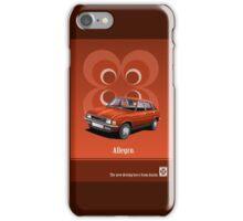 Austin Allegro period advert iPhone Case/Skin