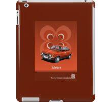 Austin Allegro period advert iPad Case/Skin