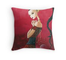 Desert Caravan Fantasy  Throw Pillow