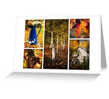 Wandering in autumn Greeting Card