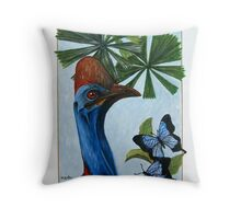 In the Tropics Throw Pillow