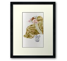 Young lady-Country girl.. Framed Print