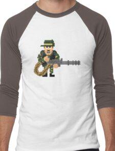 Blain Cooper - Predator Pixel Art Men's Baseball ¾ T-Shirt