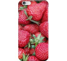 fresh strawberries 1 iPhone Case/Skin