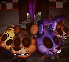 Five Nights At Freddy's 3 by Toy-Bonnie