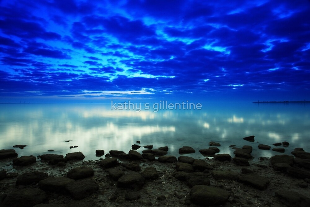 stillness of the bay by kathy s gillentine