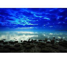 stillness of the bay Photographic Print