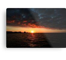 1/1/11 sunrise Metal Print
