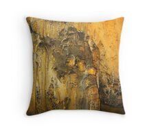 COUPLE IN LOVE - CAVE SCULPTURE Throw Pillow