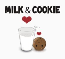 Milk and Cookie in Love by Brenda Boo