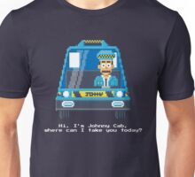 Johnny Cab - Total Recall Pixel Art Unisex T-Shirt
