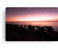 silky smooth bay Canvas Print