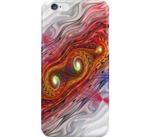 abstract fractal swirls iPhone Case/Skin