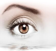 Details of beauty woman eye by stefano senise