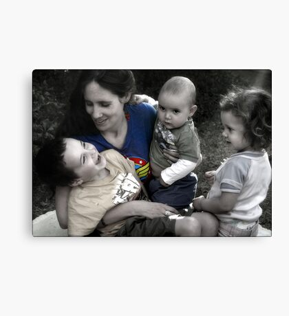 For all the Wonder Women out there... Canvas Print
