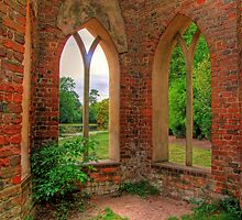 The Abbey - Painshill Park - HDR by Colin  Williams Photography