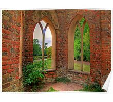 The Abbey - Painshill Park - HDR Poster