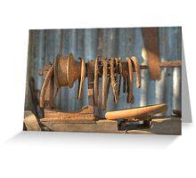 The Vintage Lathe, Howard, Queensland, Australia  Greeting Card