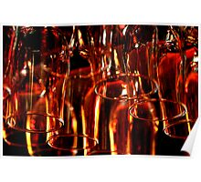 Glass of Red Poster
