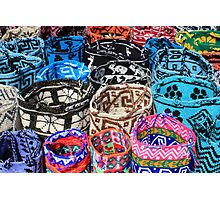 Bright Knit Bags Photographic Print