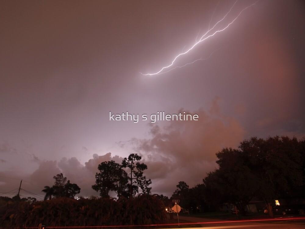Lightening show by kathy s gillentine