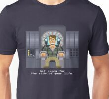 Doug Quaid - Total Recall Pixel Art Unisex T-Shirt