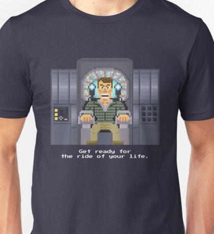 Doug Quaid - Total Recall Pixel Art Unisex T-Shirt
