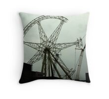 broken thing.... Melbourne Throw Pillow