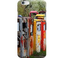 Gas Pump Conga Line in New Mexico iPhone Case/Skin