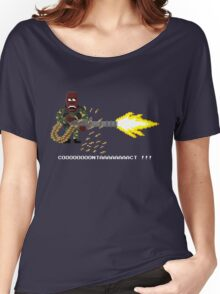 Contact ! - Predator Pixel Art Women's Relaxed Fit T-Shirt