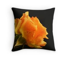 Sweet scented rose Throw Pillow