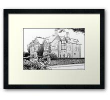 Glen Garth Hotel Framed Print