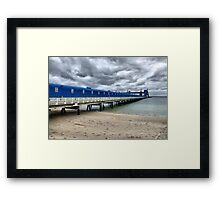 CBH Grain Terminal Conveyor - Kwinana Beach Framed Print