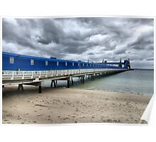 CBH Grain Terminal Conveyor - Kwinana Beach Poster